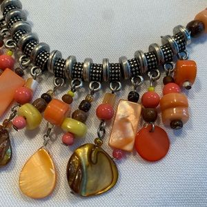 Coldwater Creek Rope Boho Necklace